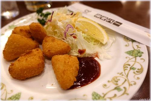 チーズフライ@神谷バー