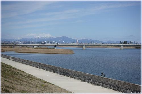 名取川河口(閖上)