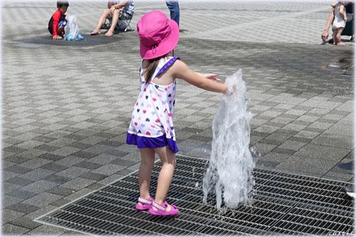 噴水@天童