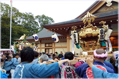 世田谷八幡宮秋季大祭