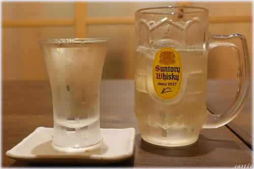 日本酒にハイボール
