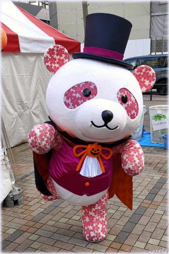 上野御徒町でパンダ