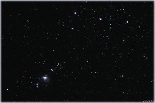 ウェザーステーションで星空