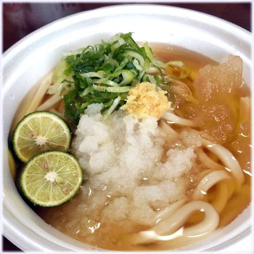 氷うどん@丸亀製麺