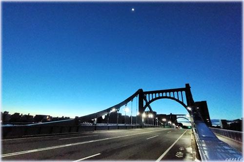早朝の清洲橋