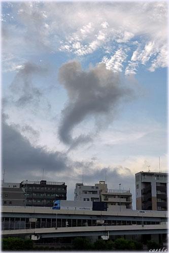 象みたいな雲
