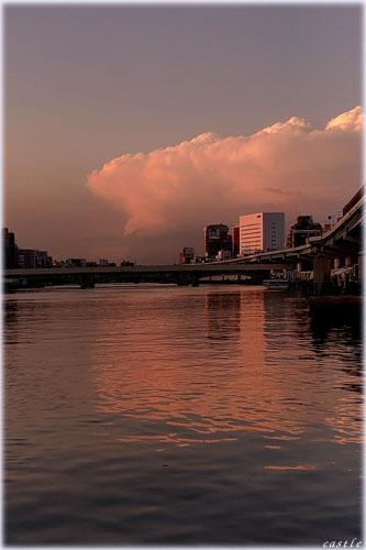 今年の夏に撮影した雲。