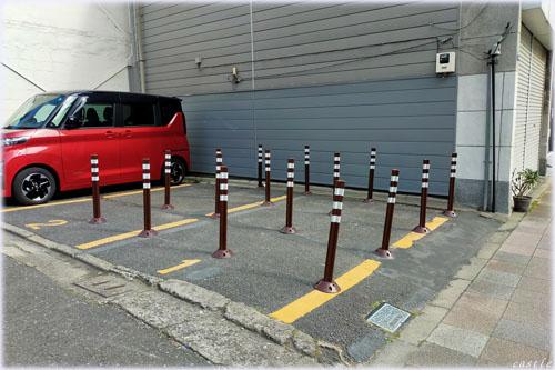 駐車させないぞ